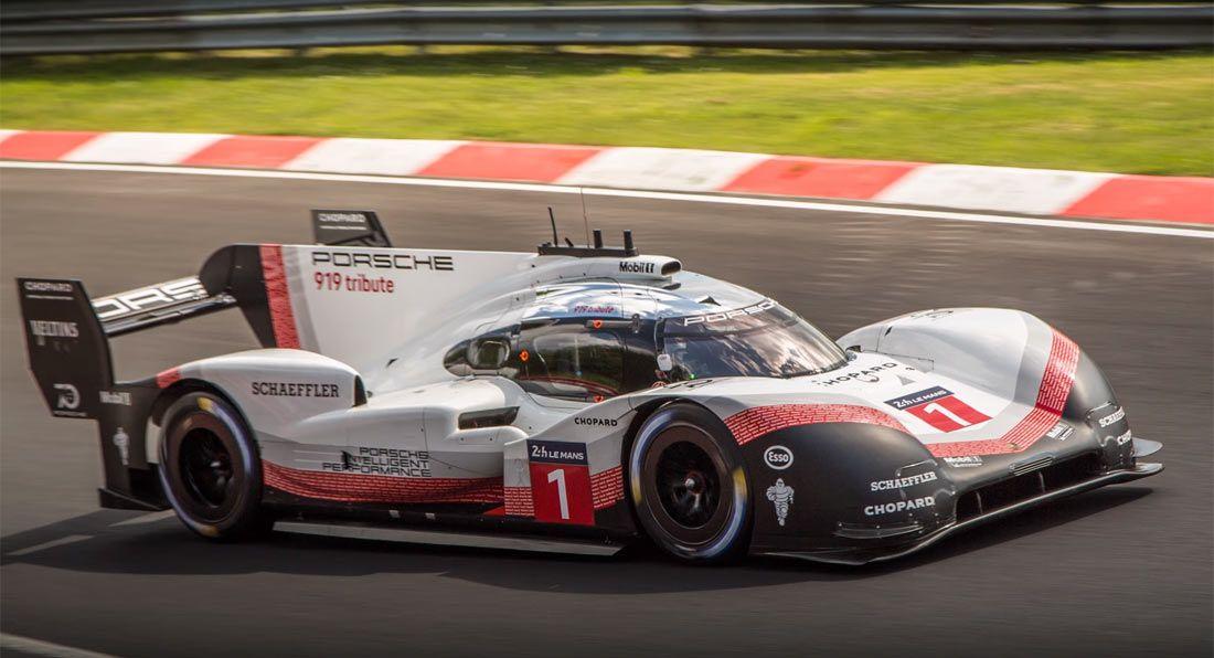 rekord-video-Porsche-919-Evo-Nurburgring