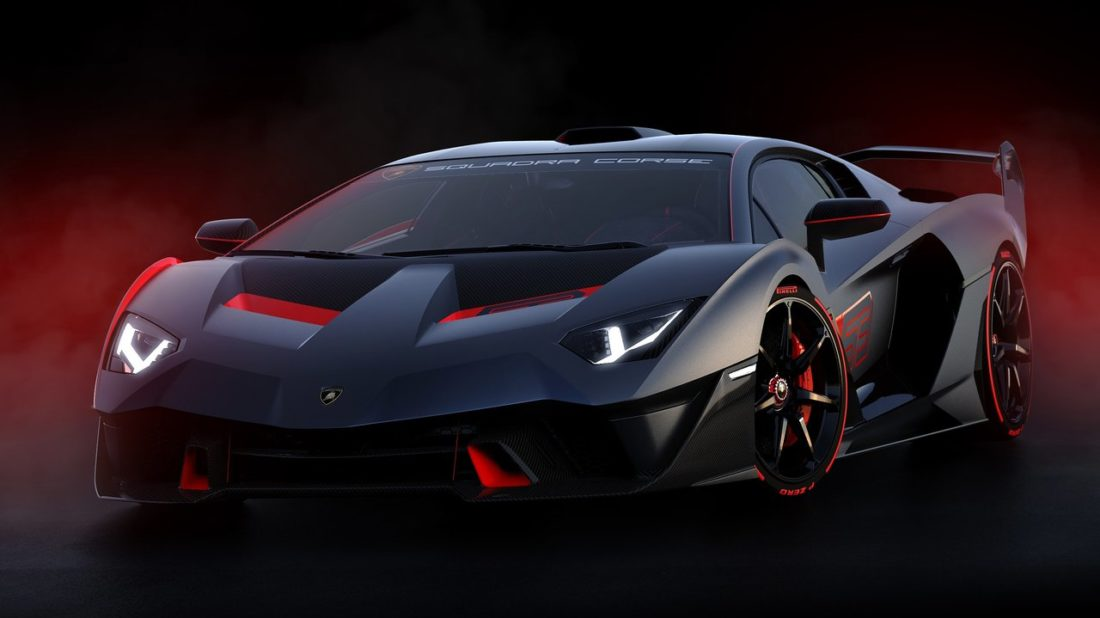 Lamborghini Sc18 Alston Unikatni Vuz Vznikly Za Pomoci Zavodniho
