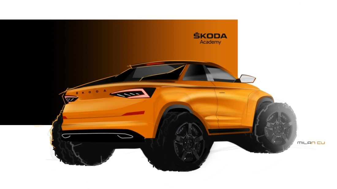 190319-skoda-student-concept-car-will-be-a-pickup-version-of-the-kodiaq-sketch-1100x618.jpg