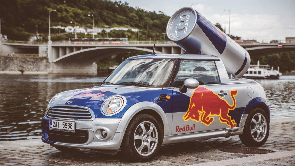 Mini Cooper Red Bull