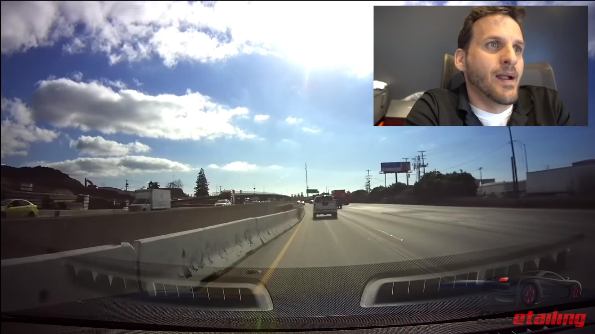 Tesla – nehoda