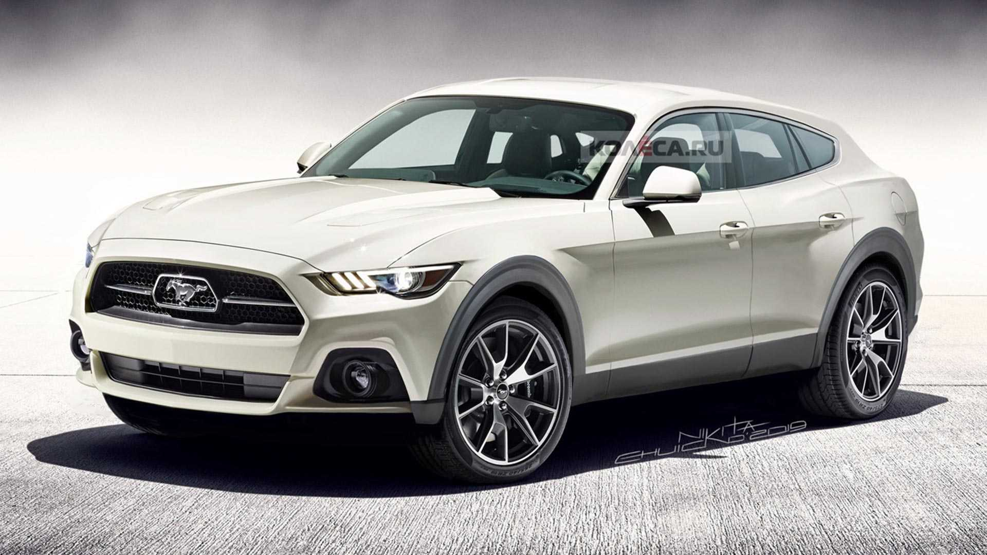Ford Mustang jako obtloustlé SUV