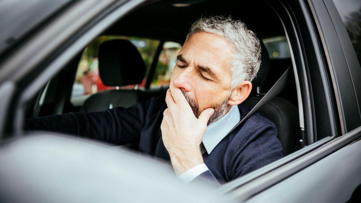 Pětinu dopravních nehod způsobuje únava