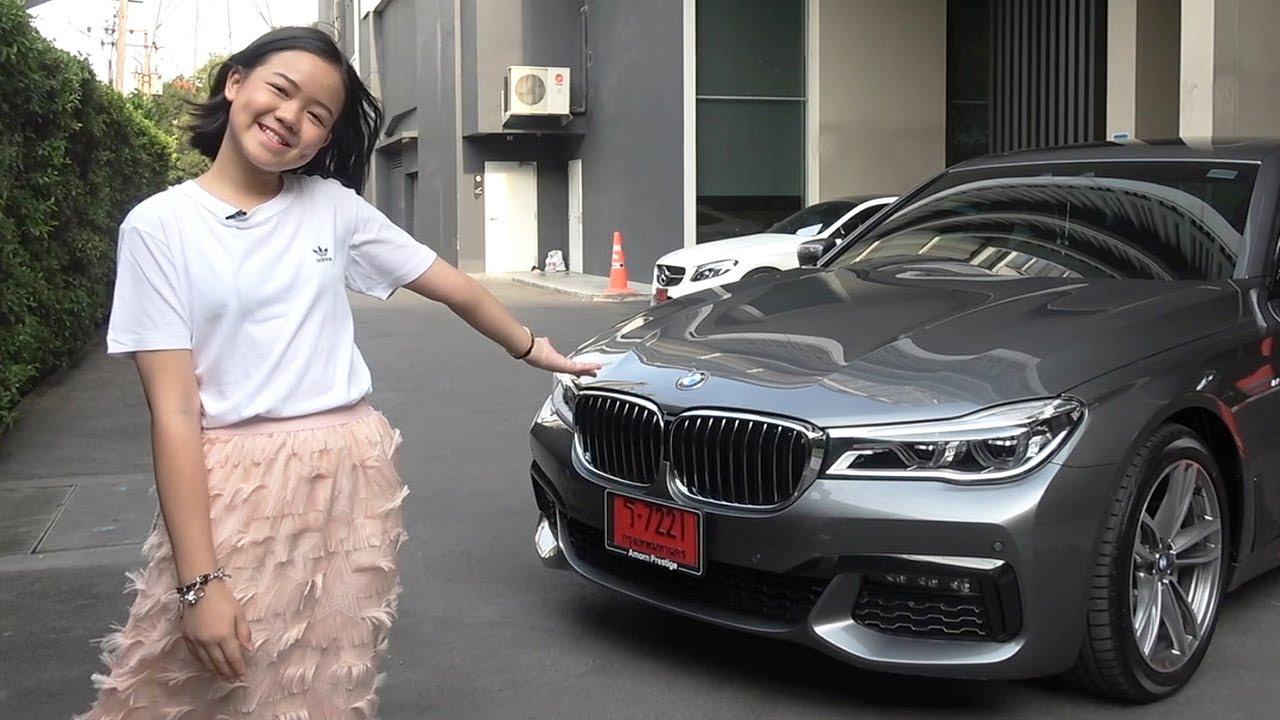 12letá slečna chtěla doma udělat radost. Koupila BMW řady 7