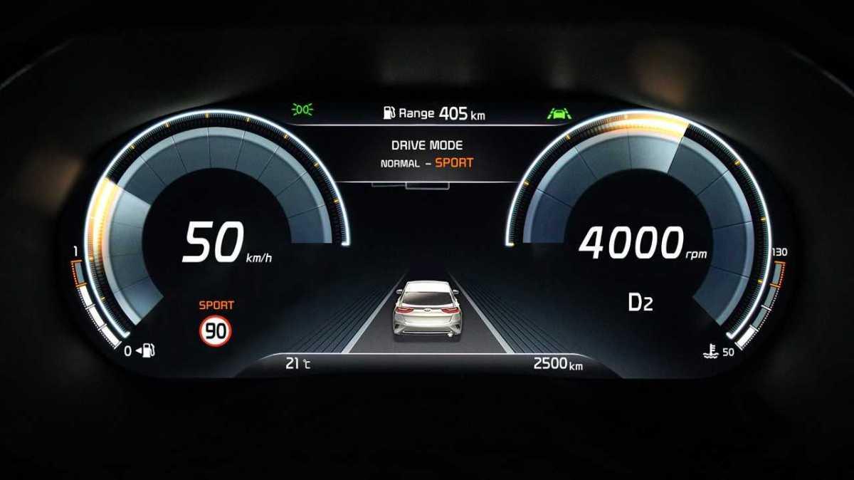 Kia XCeed bude prvním autem značky sdigitálním přístrojovým štítem