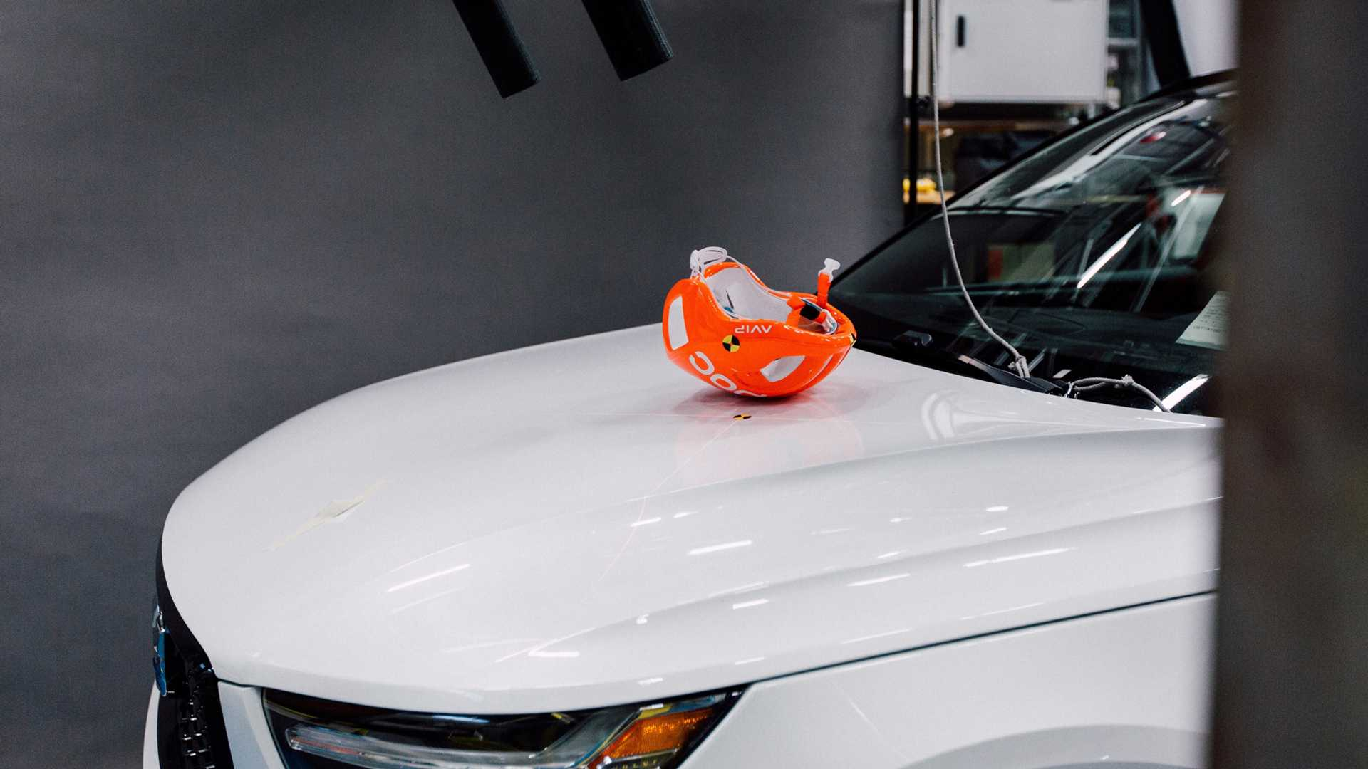 Volvo vyvíjí cyklistický crashtest