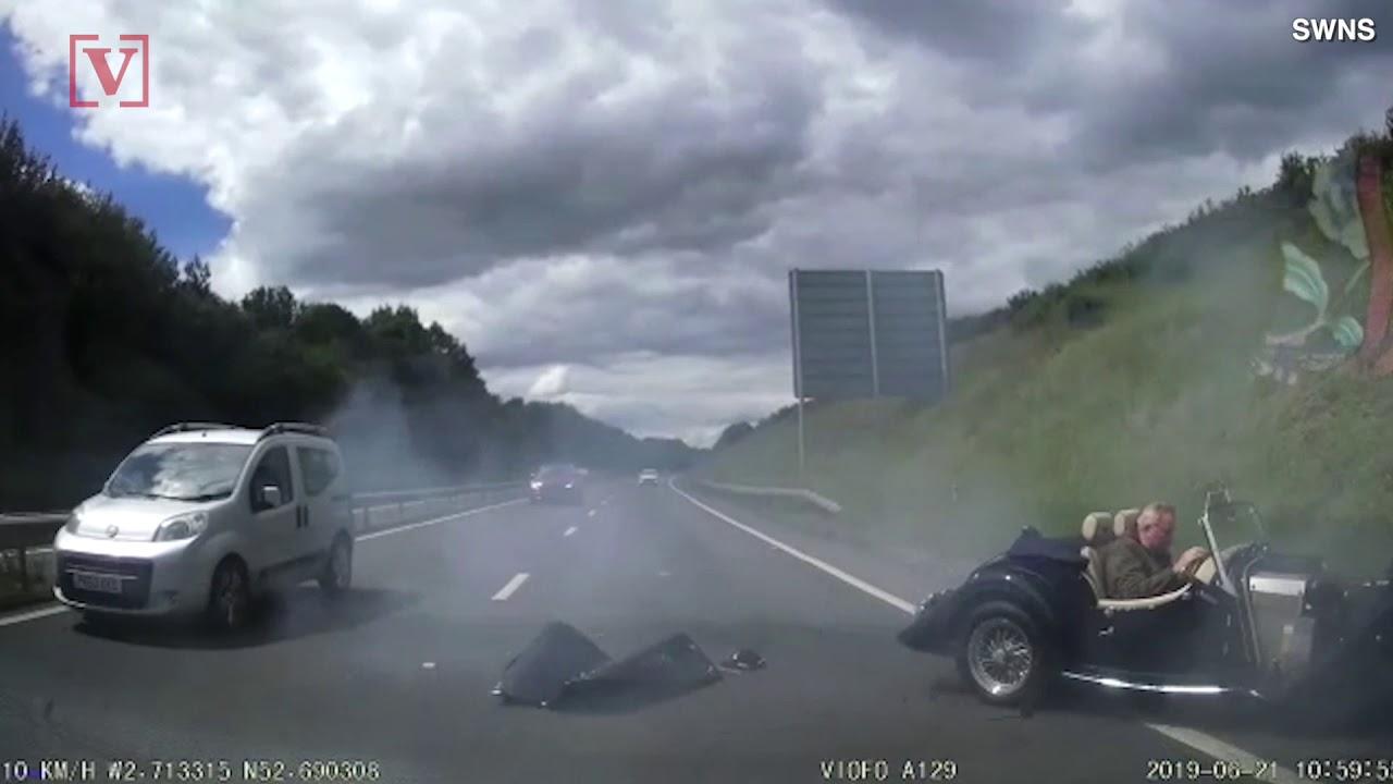 Řidič Morganu nedával pozor ašpatně skončil