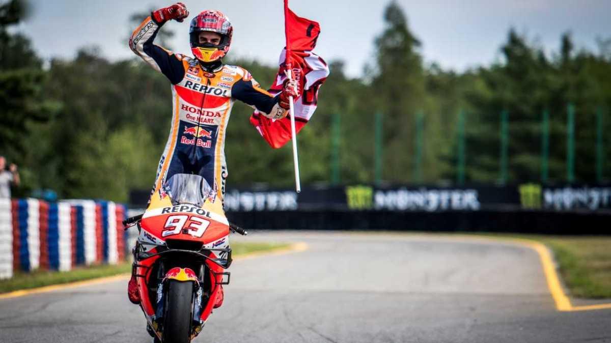 Grand Prix České republiky 2019: MotoGP ovládl Marquéz