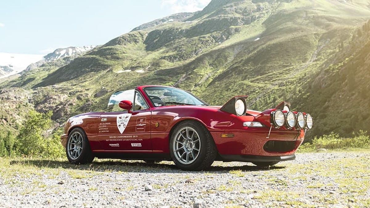 Mazda MX-5 na pneumatikách Pirelli pokořila jeden zajímavý rekord