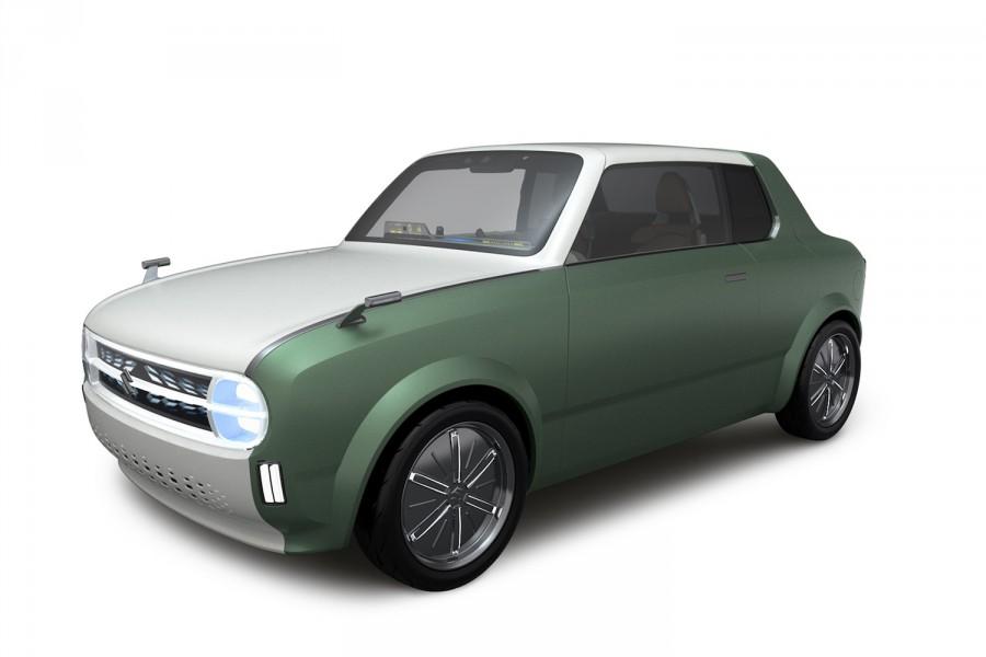 Koncept Suzuki Waku SPO kombinuje kupé akombi