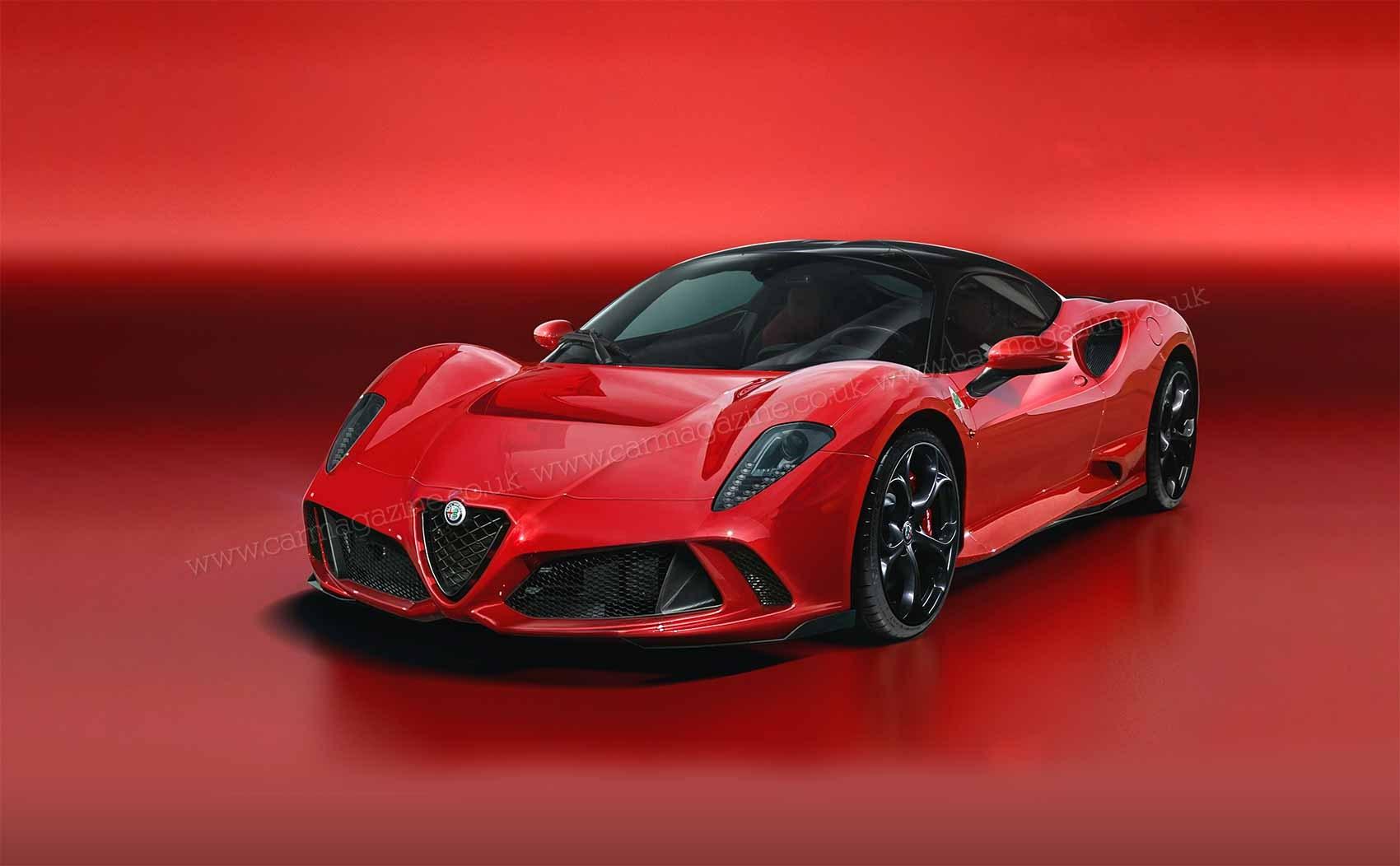 Alfa Romeo 8C Concept