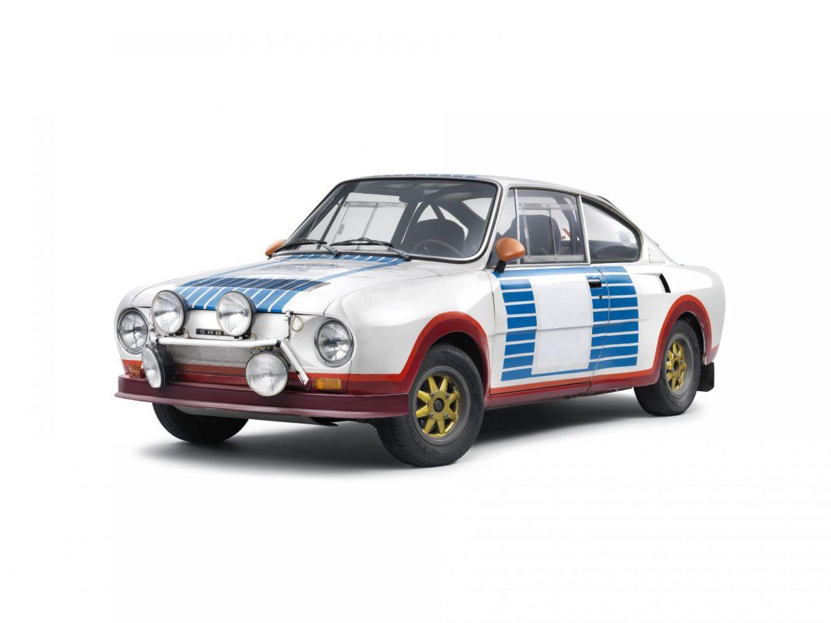 Historie modelů Škoda RS