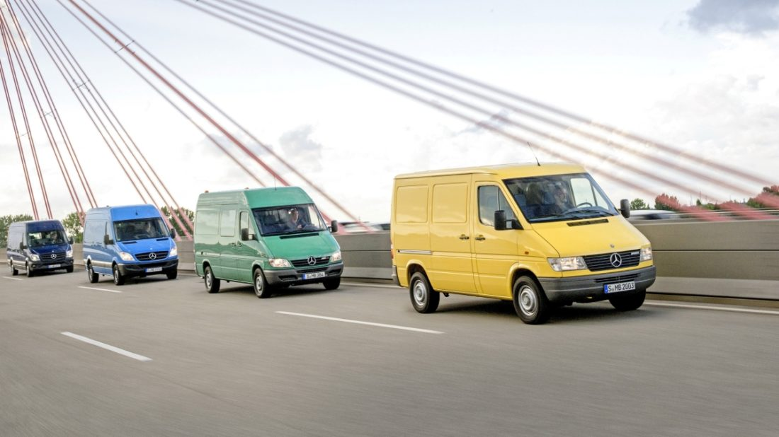 Mercedes benz sprinter 2020