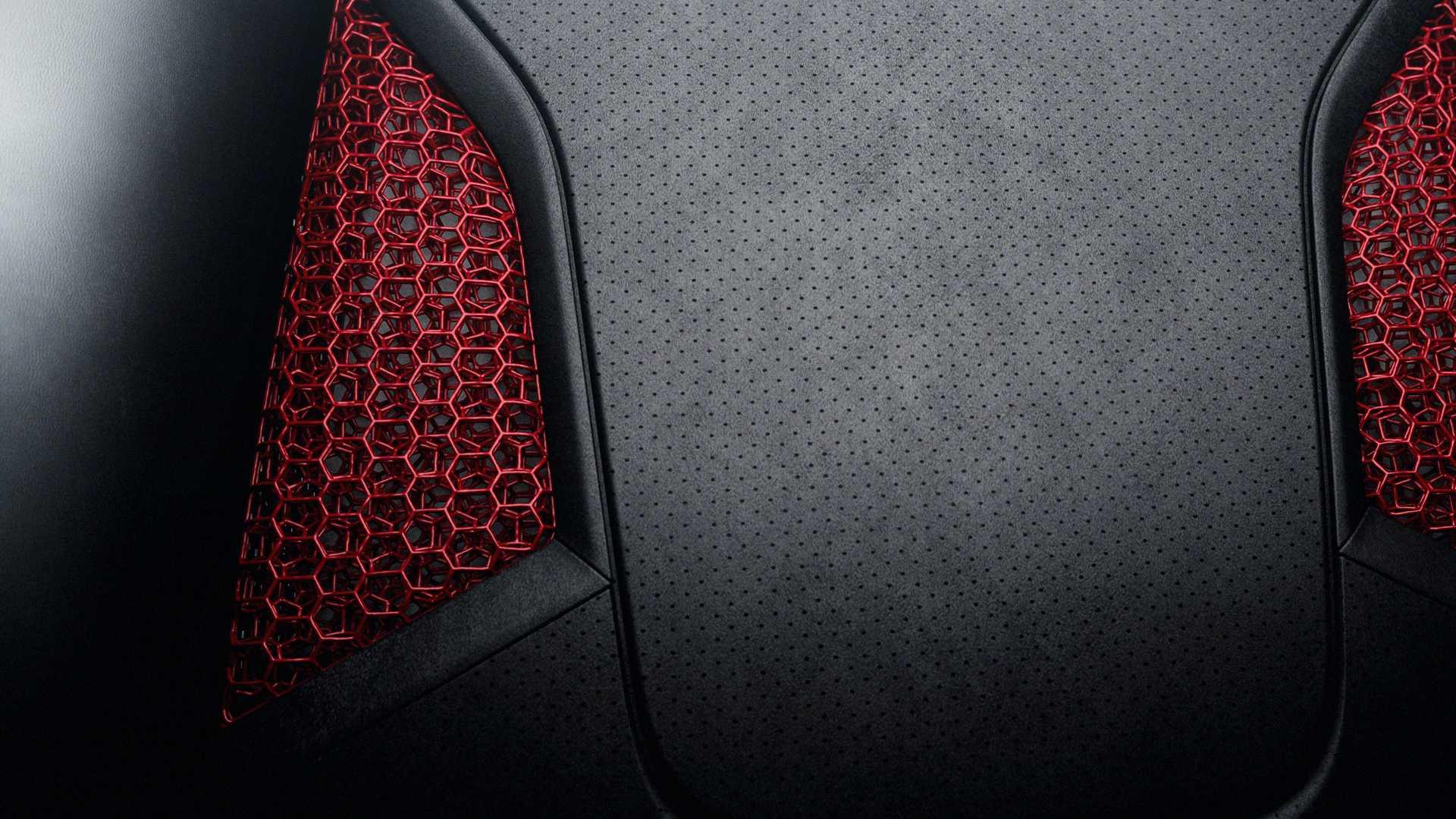Sedadlo Porsche 3D tisk