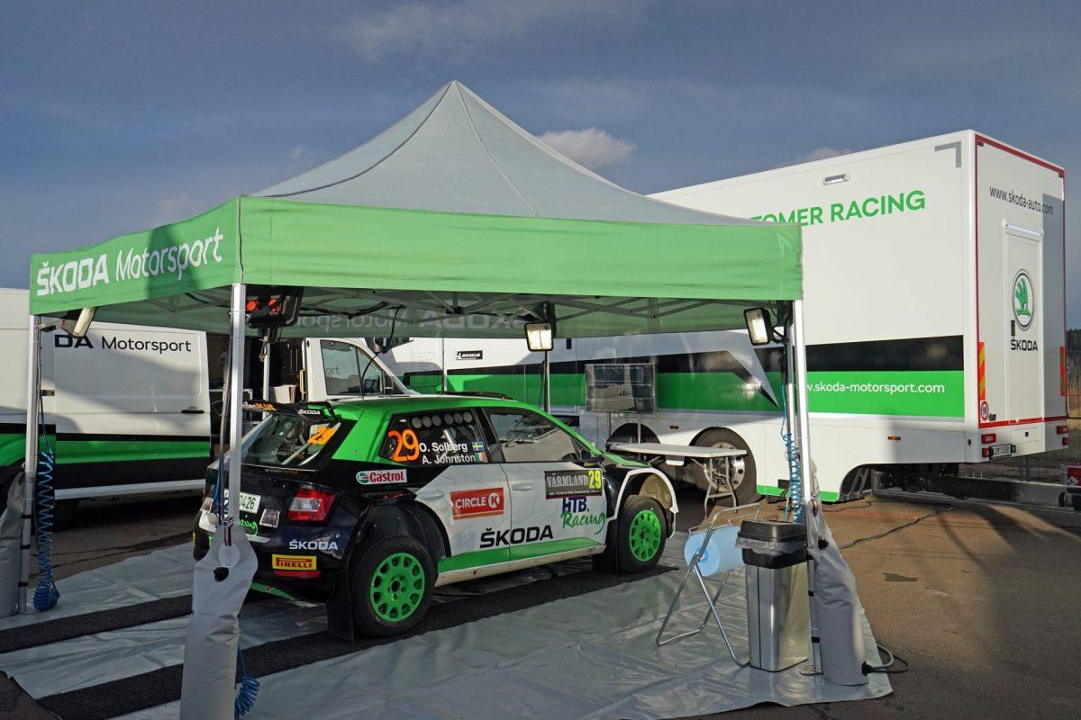 Zákulisí Škoda Motorsport