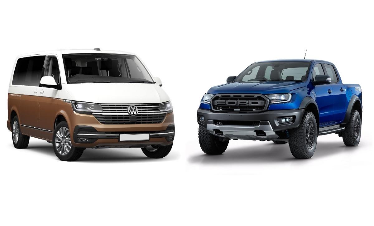 Ford aVolkswagen budou společně stavět užitkové vozy