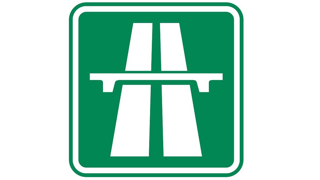 Značka dálnice