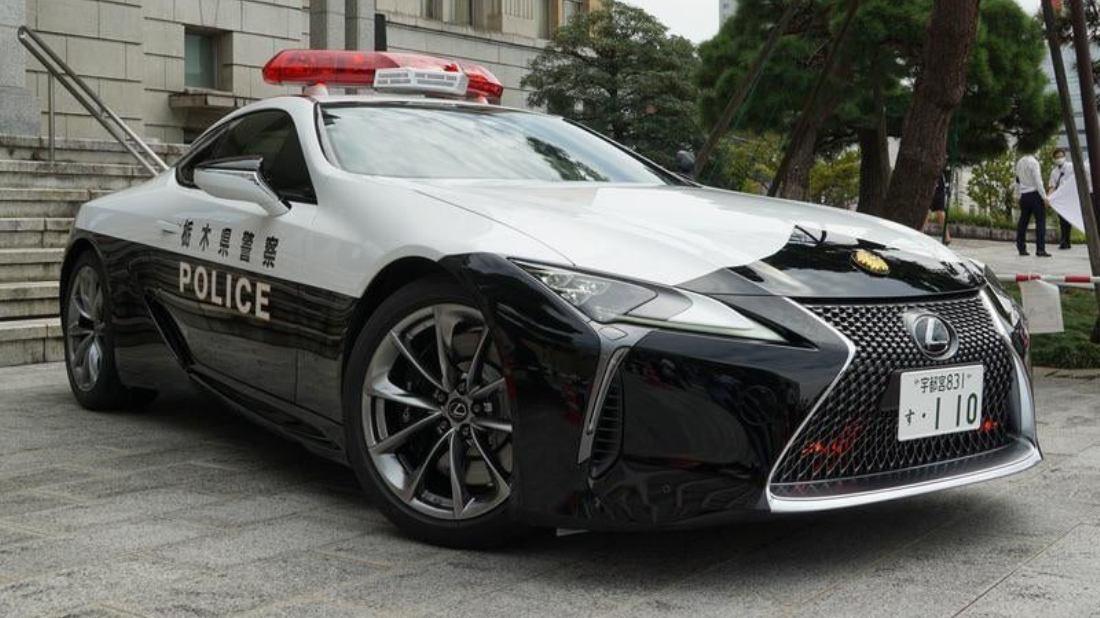 Lexus LC 500 japonské policie