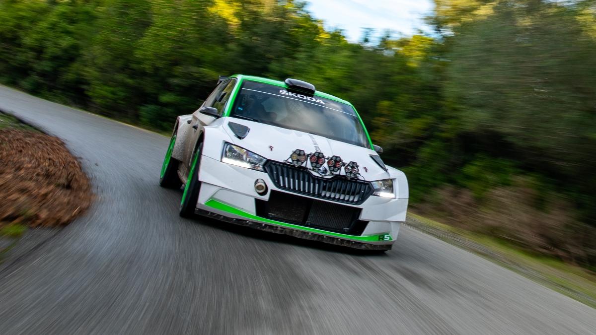 Škoda Fabia Rally2 evo