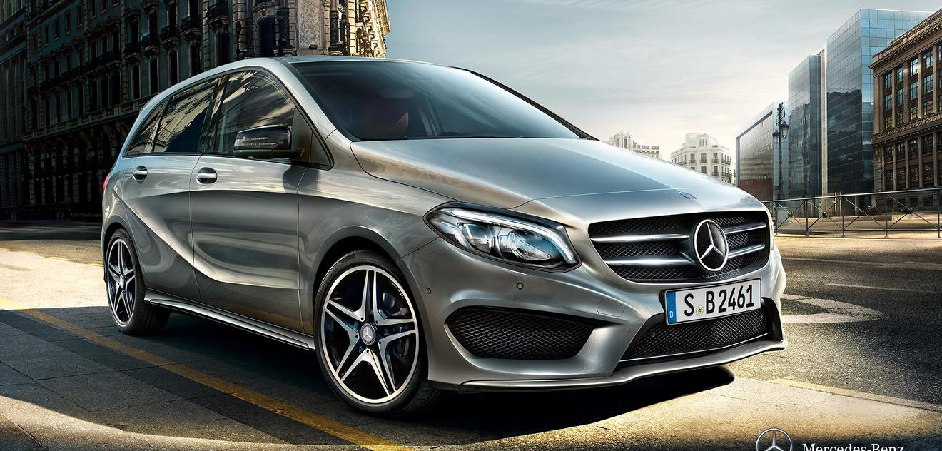 Fotografie Mercedes-Benz Třídy B