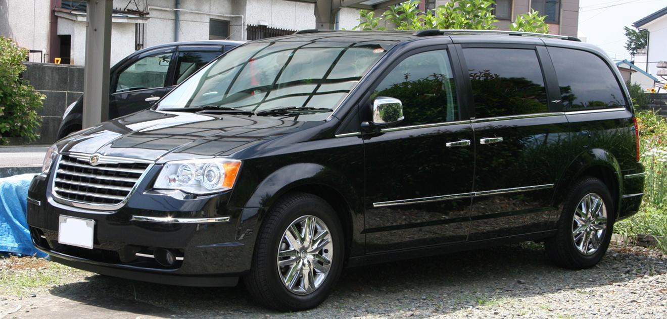 Fotografie Chrysler Grand Voyager