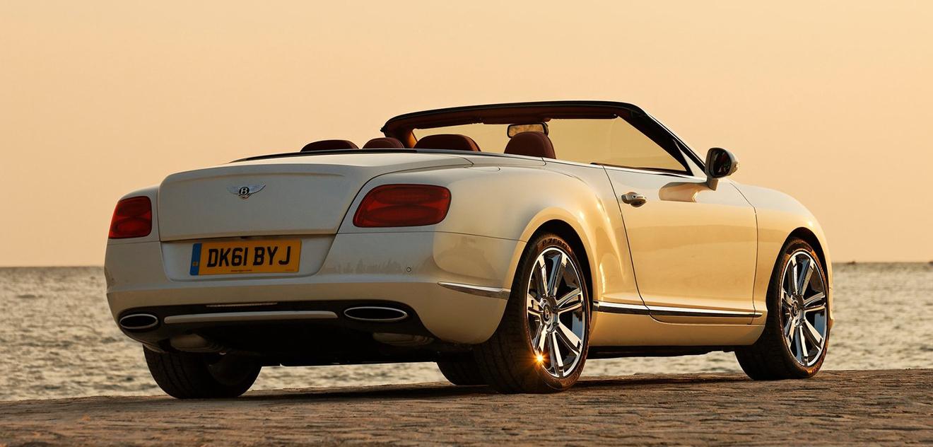 Fotografie Bentley Continental GTC