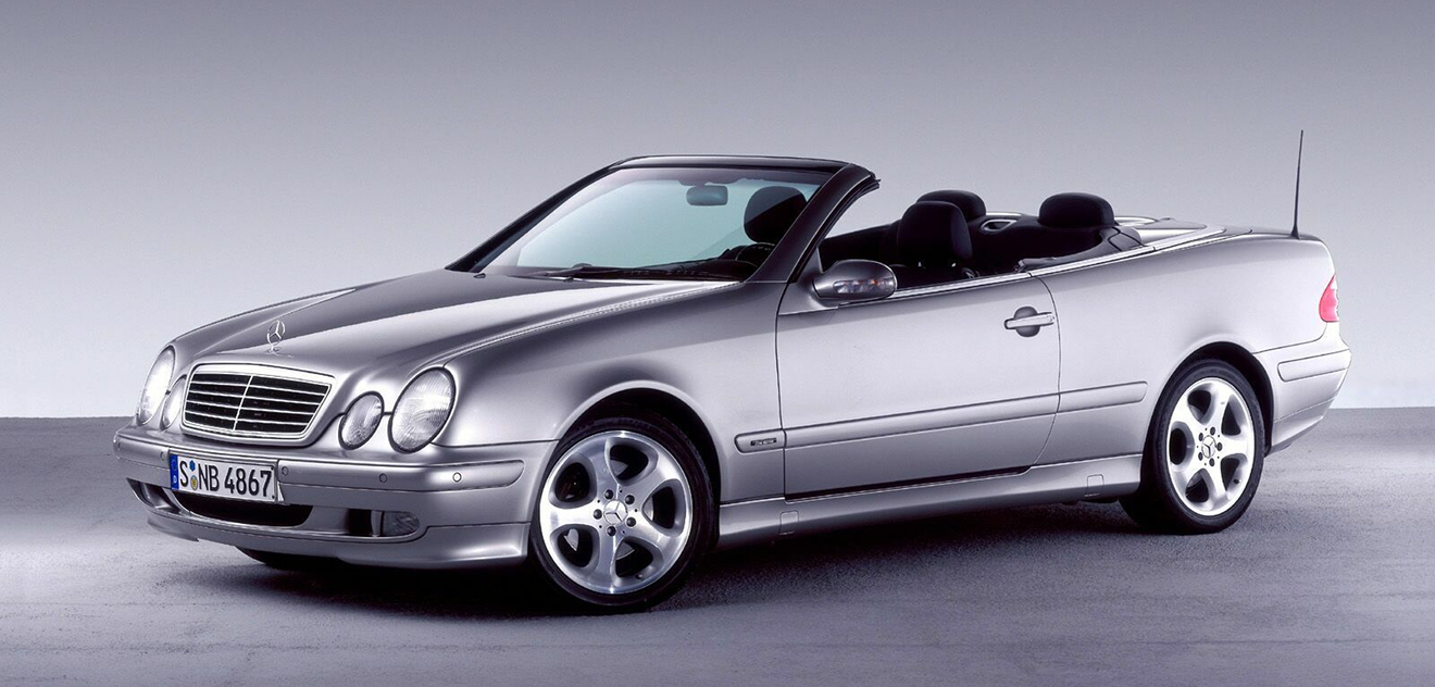 Fotografie Mercedes-Benz CLK