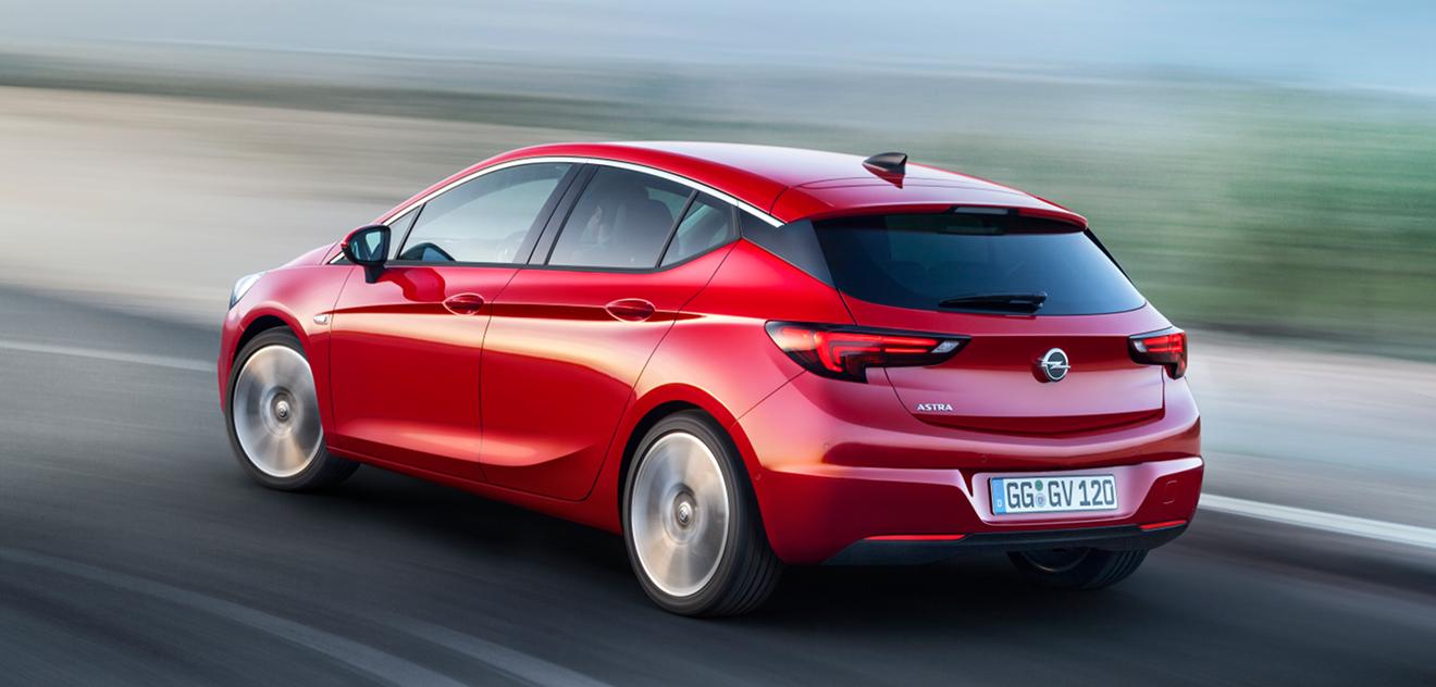 Fotografie Opel Astra