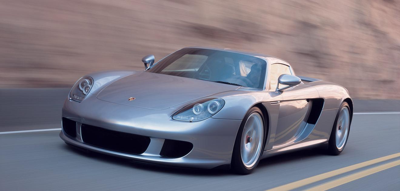 Fotografie Porsche Carrera GT