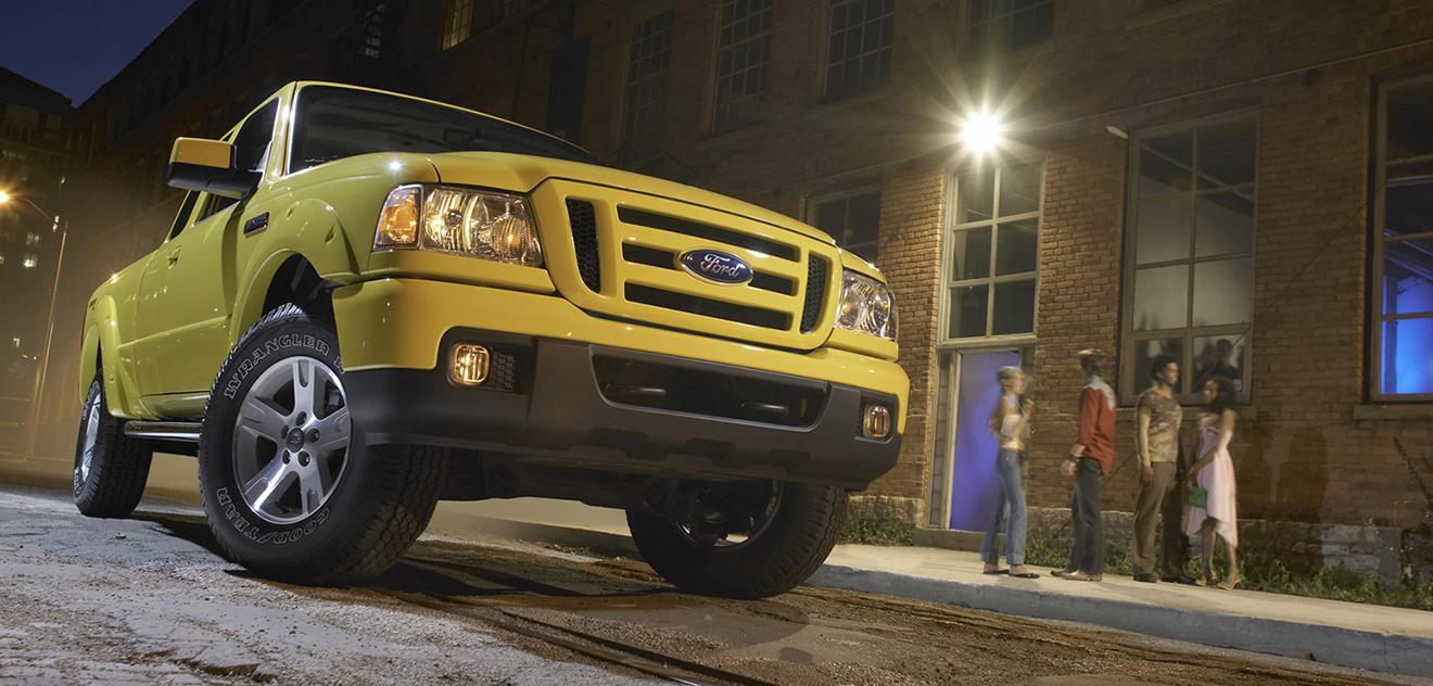 Fotografie Ford Ranger