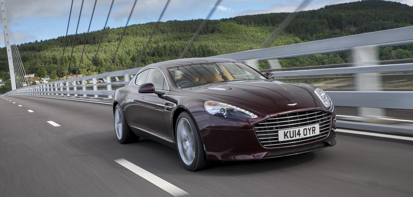 Fotografie Aston Martin Rapide