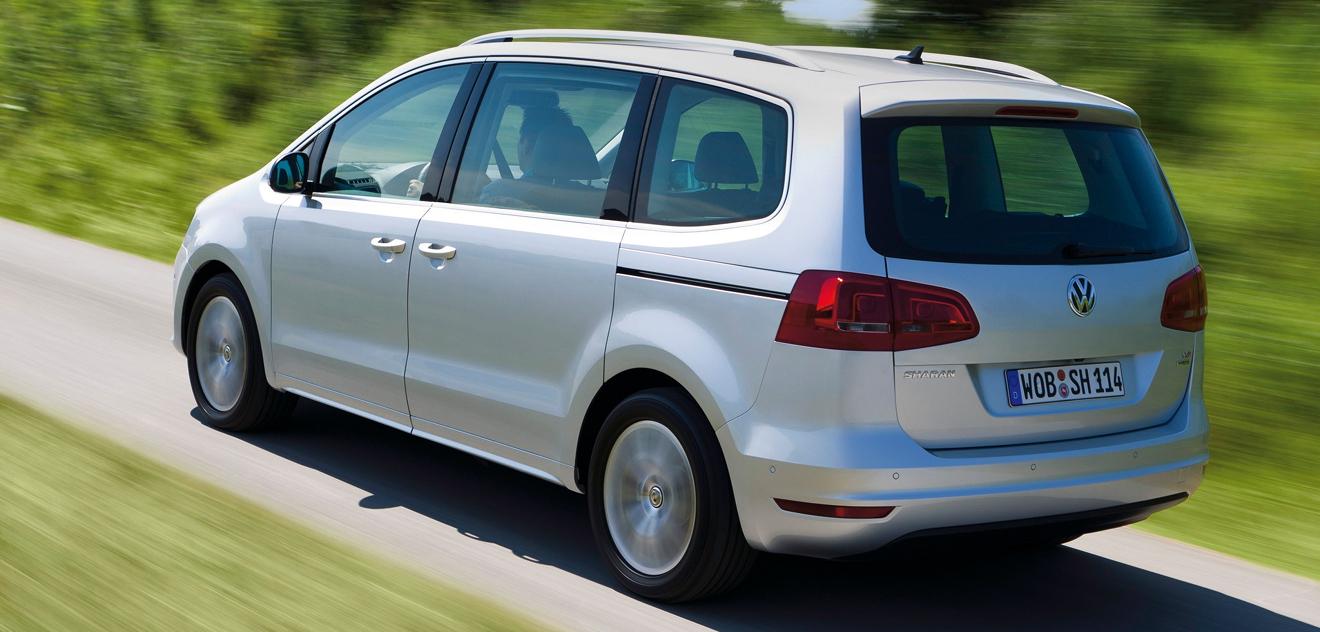 Fotografie Volkswagen Sharan